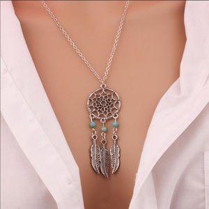 Boeheim dream catcher fashion necklace